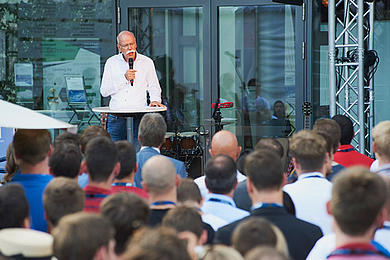 Dr. Dieter Zetsche beim Late-Night-Talk